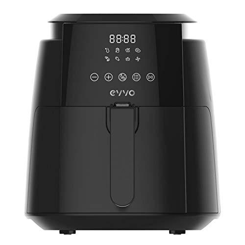 EVVO Freidora sin aceite Tasty Fryer - 1500W, Tecnología Dual Cyclone, Multifunción...